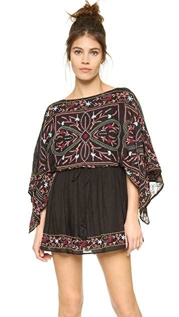 99d208560d2 Free People Frida Embroidered Dress ...