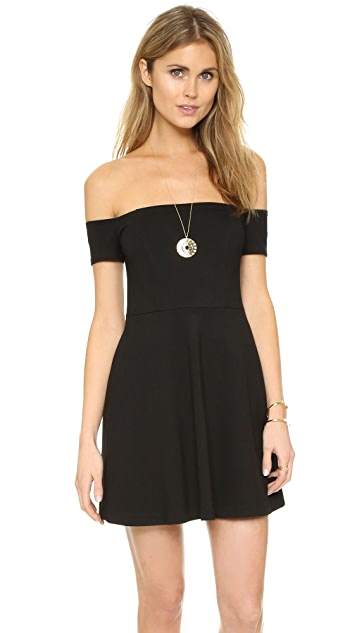 Free People Black Mambo Mini Dress