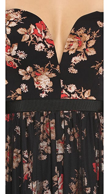 Free People Party Printed Ball Gown