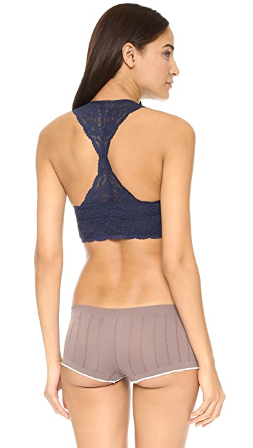 Free People Galloon Lace Racer Back Bra