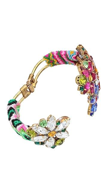frieda&nellie Flower Metal Mama Bracelet