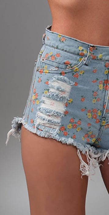 Friend of Mine Venice Denim Shorts