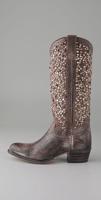 Frye Deborah Studded Boots