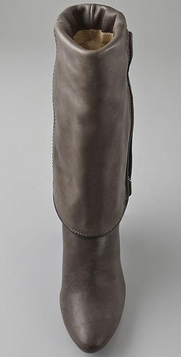 Frye Dannika Piped Cuffed Boots