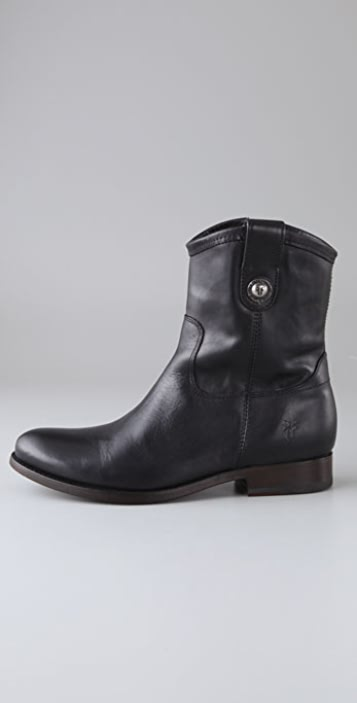 Frye Melissa Button Short Boots