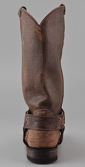Frye Wyatt Harness Boots