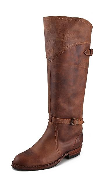 Frye Dorado Lug Sole Riding Boots