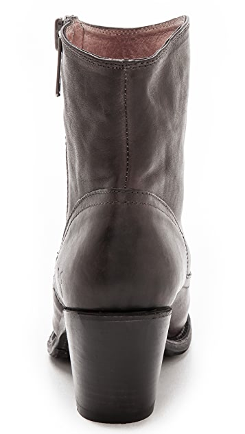 Frye Leslie Zip Booties