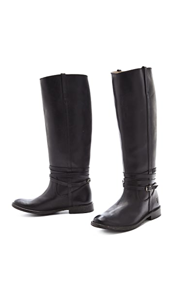 Frye Shirley Boots with Riding Plate