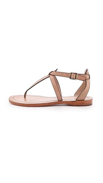 Frye Rachel T-Strap Sandals