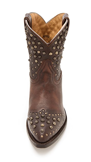Frye Billy Studded Booties