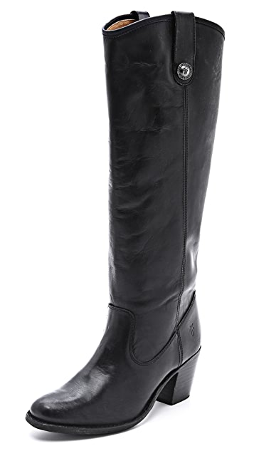 Frye Jackie Button Tall Boots