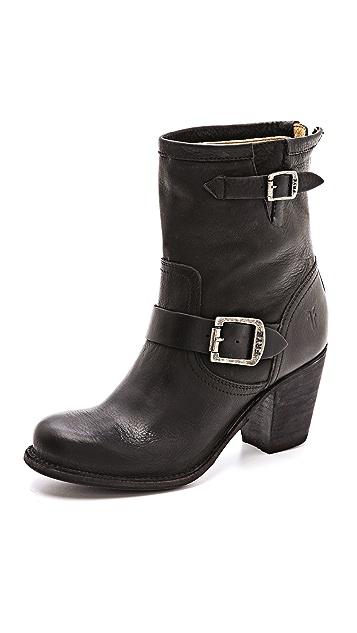 Frye Karla Engineer Short Boots