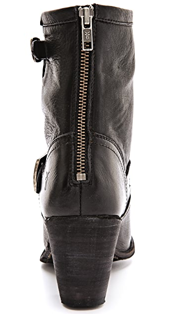 Frye Karla Engineer Short Boots