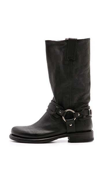 Frye Jenna Belted Harness Boots
