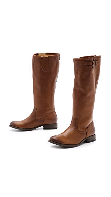 Frye Pippa Back Zip Tall Boots