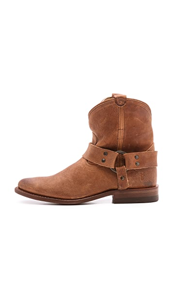Frye Wyatt Harness Short Booties