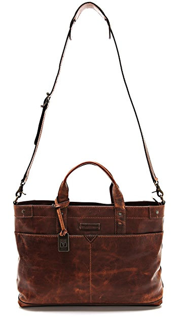 Frye Logan Zip Top Bag