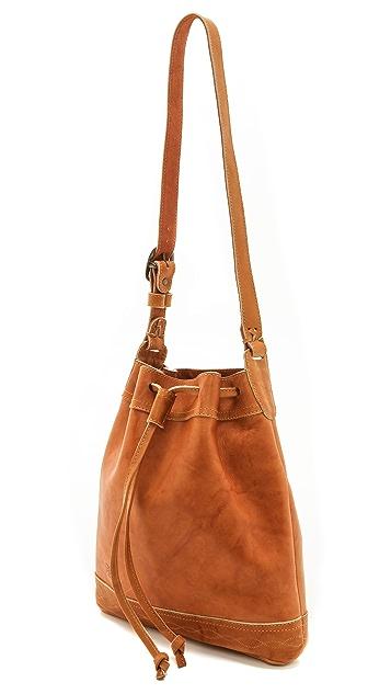 Frye Campus Vintage Drawstring Bag