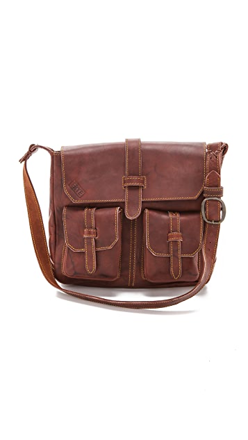Frye Campus Vintage Shoulder Bag
