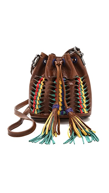 Frye Миниатюрная сумка-ведро Heather