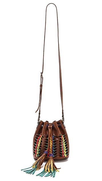 Frye Heather Small Bucket Bag