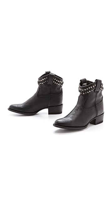 Frye Diana Cut Studded Booties