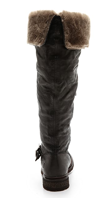 52eb4775d93 ... Frye Valerie Shearling Over the Knee Boots ...