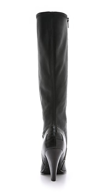 Frye Mikaela Stretch Tall Boots