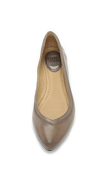Frye Olive Ballet Flats