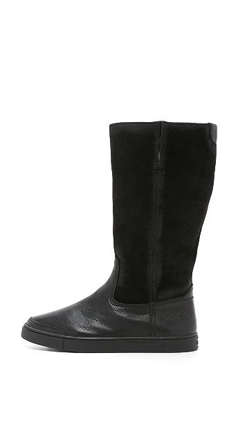 Frye Gemma Tall Shearling Boots