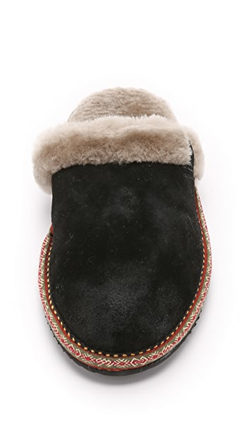 Frye Denise Slippers
