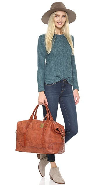Frye Campus Overnight Bag
