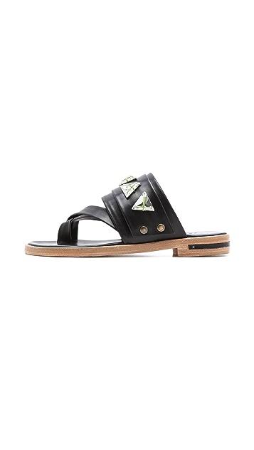 Freda Salvador Mind Swarovski Sandals
