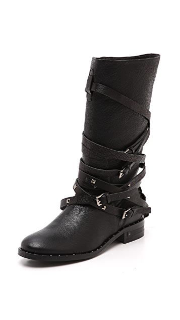 Freda Salvador Ride Buckle Boots