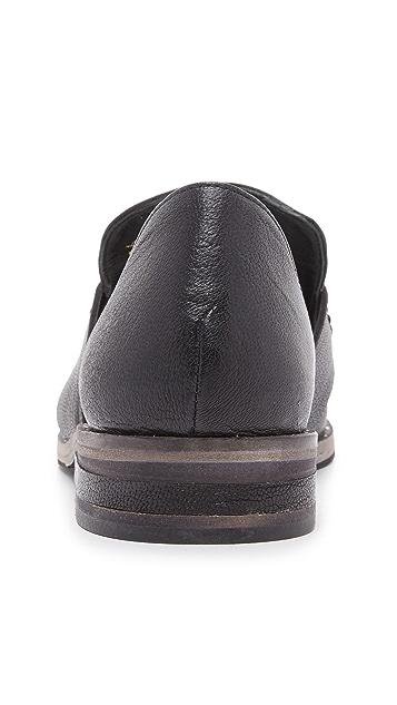 Freda Salvador Kind d'Orsay Penny Loafers