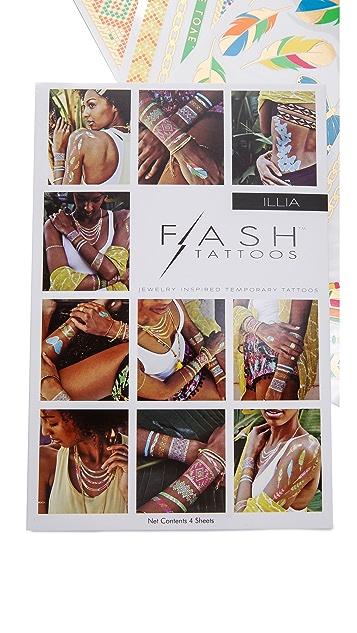 Flash 纹身 Illia 纹身套装