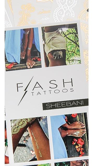 Flash Tattoos Sheebani Tattoo Set