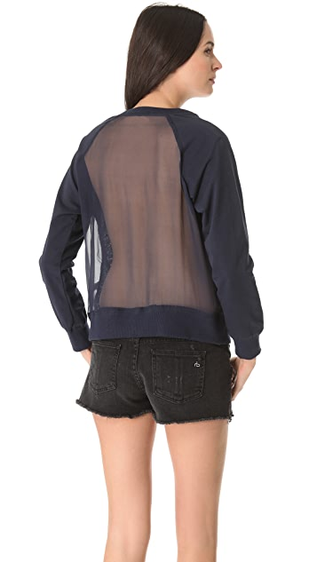 Funktional Weiland Sheer Back Sweater