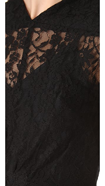 Funktional Victorian Lace Mini Dress