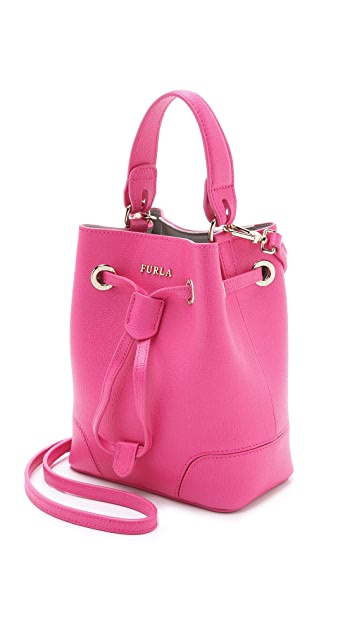 Furla Stacy Mini Cross Body Bucket Bag