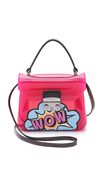 Furla Graffiti Candy Bon Bon Mini Cross Body Bag