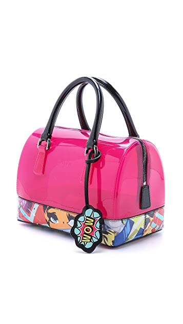 Furla Graffiti Candy Cookie Mini Satchel