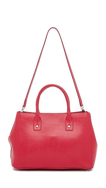Furla Маленькая объемная сумка с короткими ручками Linda