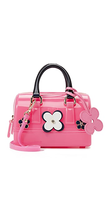 Furla Floral Candy Sweetie Mini Cross Body Bag