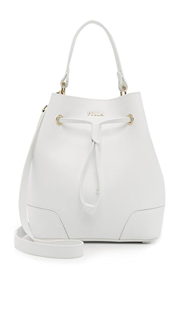 Furla Stacy Drawstring Bucket Bag