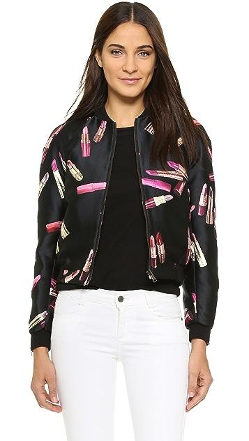 Giamba Куртка с изображением помады