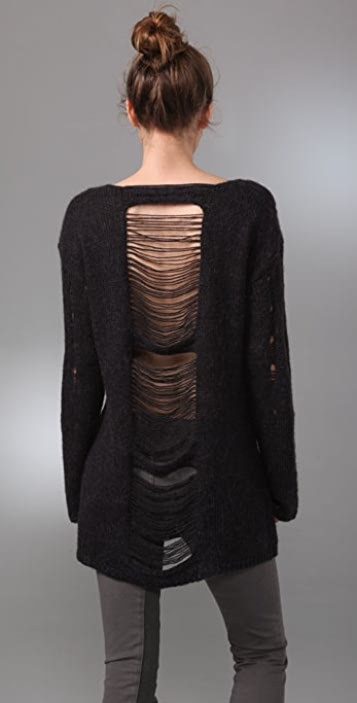 Graham & Spencer Distressed Sweater