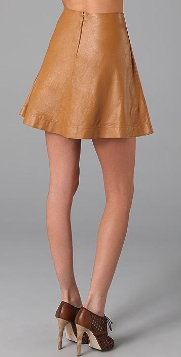 Graham & Spencer Leather Skirt
