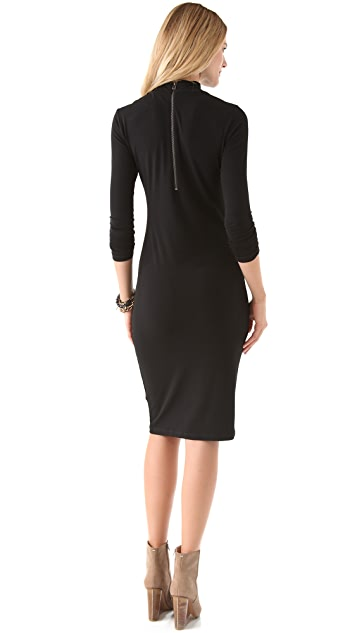 Graham & Spencer Stretch Jersey Cowl Dress